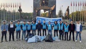 Bursa Ülkü Ocaklarından temizlik kampanyası - Bursa Haberleri