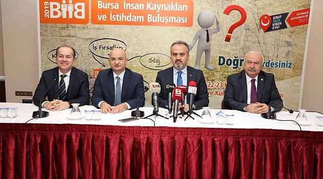 Bursa'da 'istihdam' buluşması - Bursa Haberleri