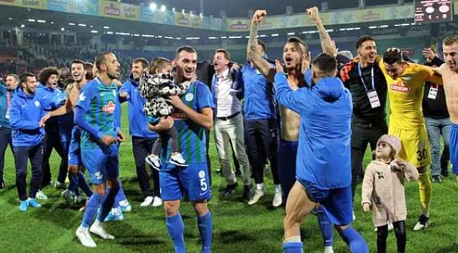 Çaykur Rizespor evinde Antalyaspor'u yendi