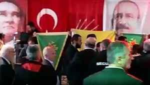 CHP'nin Avrupa'daki etkinliğini PKK sempatizanları bastı