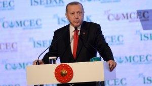 """Cumhurbaşkanı Erdoğan, """"21'inci yüzyılın adalet savunucuları olmak zorundayız"""""""