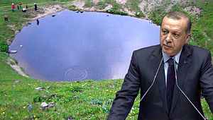 Cumhurbaşkanı Erdoğan'dan Dipsiz Göl tepkisi