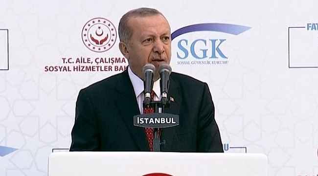Cumhurbaşkanı Erdoğan'dan vatandaşın cebini rahatlatacak faiz indirimi müjdesi