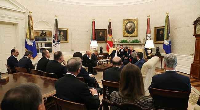 """Cumhurbaşkanı Erdoğan'dan ABD'li senatörlere ayar: """"Sizin Kürt diye zikrettiğiniz YPGPYD, bunlar terör örgütü"""""""