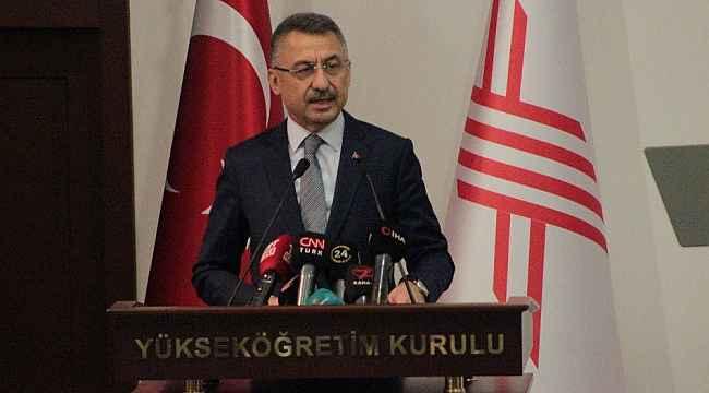 Cumhurbaşkanı Yardımcısı Oktay'dan ABD'nin terörizm raporuna tepki