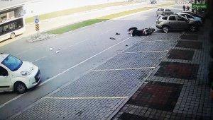 Dehşet veren kaza anı - Bursa Haberleri
