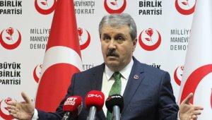 Destici'den Kılıçdaroğlu ve İmamoğlu'na tepki