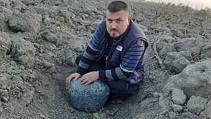 Evin bahçesine 50 kiloluk göktaşı düştüğü iddiası
