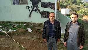 Evinin duvarı işaretlenen Alevi aile ilk kez konuştu