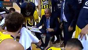 Fenerbahçe 26 sayı fark yedi, Obradovic'in sözleri yine olay oldu
