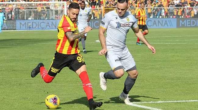 Göztepe ile Yeni Malatyaspor puanları paylaştı