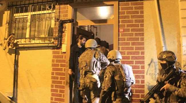 İstanbul'da gece vakti terör örgütü PKKKCK operasyonu: Çok sayıda gözaltı var