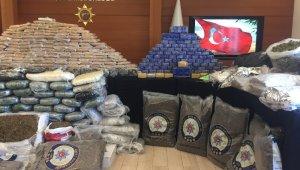 İstanbul'da uyuşturucu operasyonları: 510 kilo uyuşturucu madde ele geçirildi