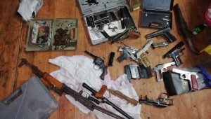 Kaçak silah ürettiler: Ankara Organize ekipleri patlattı