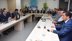 Kent Konseyi'nden BİLDEF'e ziyaret - Bursa Haberleri
