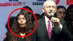Kılıçdaroğlu'nun arkasında 'Oha' çeken genç kızın kimliği ortaya çıktı