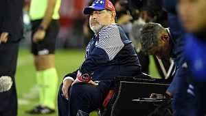 Maradona görevinden istifa etti