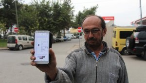 Mobilya ustası 20 metrelik yolda yarım saatte 2 ceza yedi
