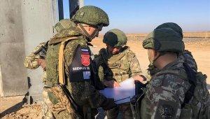 """MSB: """"Rus askerleri ile Fırat'ın doğusunda icra edilen 8. kara devriyesi tamamlandı"""""""