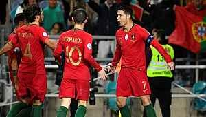 Portekiz Milli Takımı, gol anonsunu asker selamıyla verdi