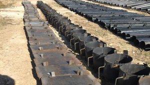 Rasulayn'nda 683 roket lançeri ve 93 EYP kabı ele geçirildi