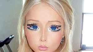 Rus Barbie olarak ünlenen kıza bir de şimdi bakın