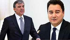 Siyasette dengeleri değiştirecek Gül-Babacan iddiası