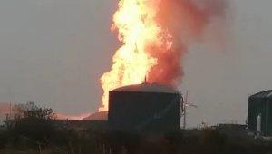 SÜTAŞ Fabrikası'nda büyük yangın - Bursa Haberleri