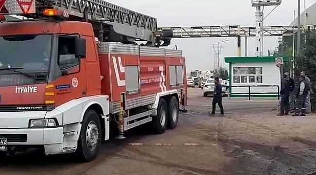 SÜTAŞ Fabrikası'ndaki yangın söndürüldü, bir işçi hastaneye kaldırıldı - Bursa Haberleri