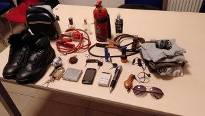 Takviye kablosu hırsızı yakalandı