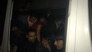 Tekirdağ'da 39 kaçak göçmen yakalandı