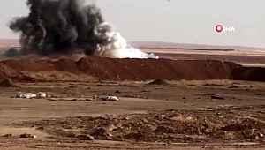 Tel Abyad'da patlatılmak için hazırlanan bombalı araç imha edildi