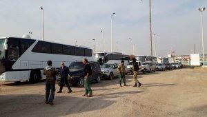 Tel Abyad'a 52 aile daha dönüş yaptı