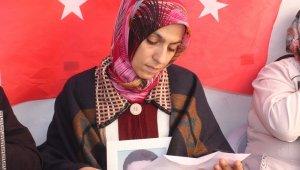 Teslim olan terörist, eylem yapan annelere mektupla destek verdi