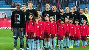 Trabzonspor-Alanyaspor maçından önce Atatürk'ün en sevdiği türkü çalındı
