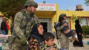 Türk askeri yaraları sarmaya devam ediyor
