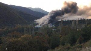 Uludağ eteklerindeki fabrikada çıkan yangın tamamen söndürüldü - Bursa Haberleri