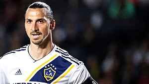Zlatan Ibrahimovic Amerika'ya kendine has şekilde veda etti
