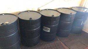 300 litre kaçak akaryakıt ele geçirildi