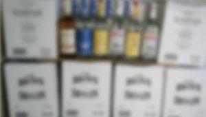 85 bin TL değerinde kaçak içki ele geçirildi