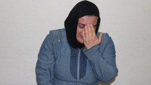 Alkolik kocası tarafından tek edildi, İki çocuk annesi yardım eli bekliyor