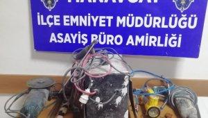Antalya'da 3 hırsızlık şüphelisi tutuklandı