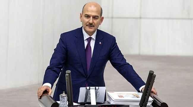Bakan Soylu'dan Meclis'te HDP'lilerin sözlerine verdiği yanıt ayakta alkışlandı!