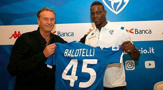 Balotelli, Brescia'dan bedelsiz ayrılabilir