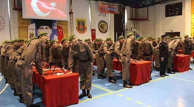 Bursa'da bedelli askerler yemin etti - Bursa Haberleri