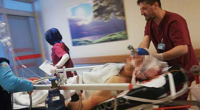 Bursa'da bunalıma giren genç, kendini tabancayla kafasından vurdu