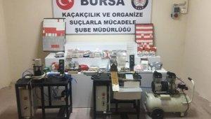 Bursa'da dev kaçakçılık operasyonu - Bursa Haberleri