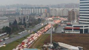Bursa'da trafik resmen durdu - Bursa Haberleri