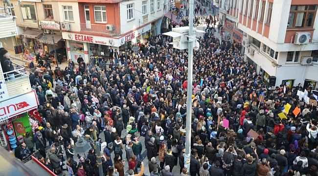 Ceren için 3 bin kişi yürüdü