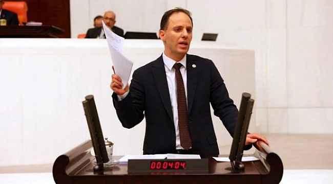 CHP'li milletvekili meclis kürsüsünden duyurdu: